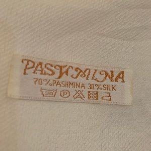 Off white Pashmina Scarf